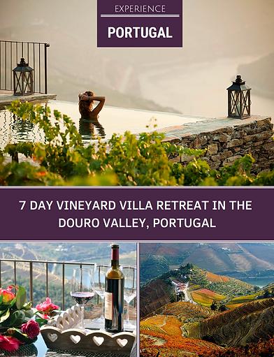 Portugal Vineyard Villa Retreat