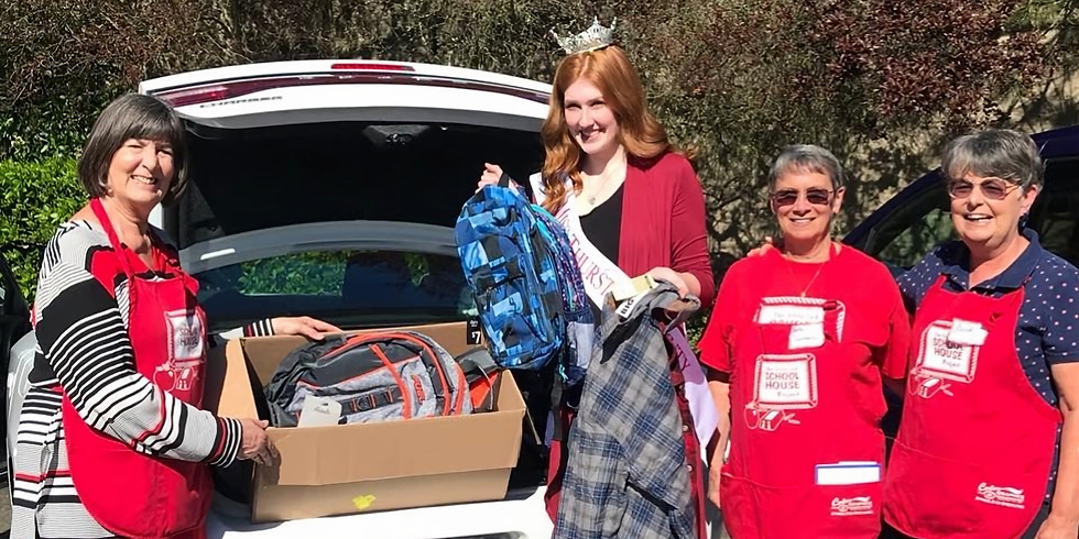 Little Red Schoolhouse Supplies Drive with KXXO Mixx 96.1