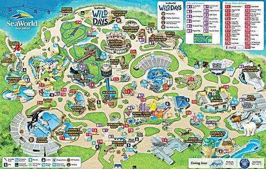 Walibi Holland Park Map