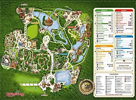 Efteling Park Map