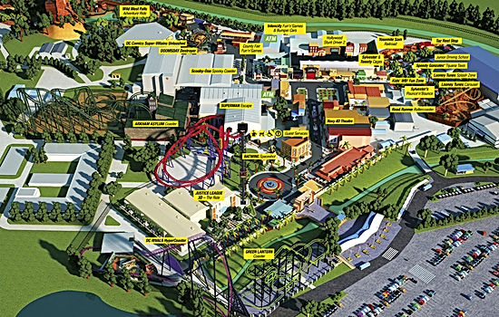 Liseberg Park Map