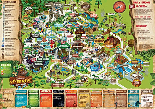 Chessington Park Map 2017