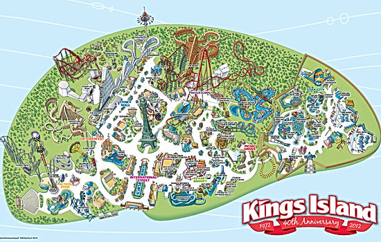 Holiday Park Park Map