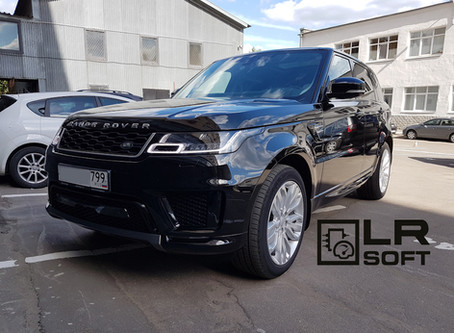 Чип-тюнинг Range Rover Sport 2018 TDV6 3.0 дооснащение, активация скрытых опций