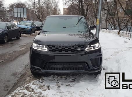 Range Rover Sport 2018 V8 5.0SC. Дооснащение, активация скрытых опций