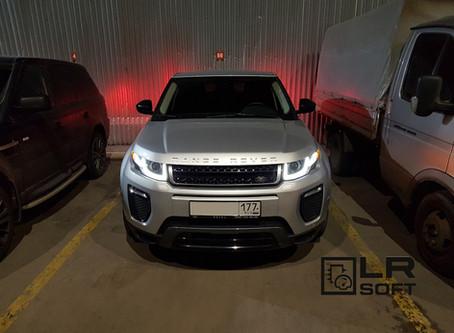 Range Rover Evoque TD4 2.2 16MY чип-тюнинг, активация опций, замеры 0-100