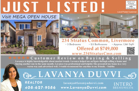 Just Listed In Livermore