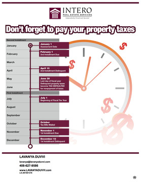 Don't Forget To Pay Your Property Taxes !