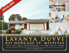 JUST LISTED - 831 HORCAJO ST, MILPITAS