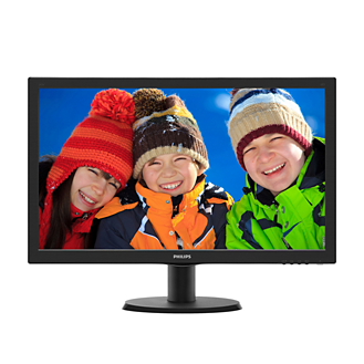 "Philips 24"" LCD Monitor with SmartControl Lite 243V5QHABA"