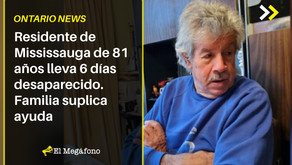 Residente de Mississauga de 81 años lleva 6 días desaparecido. Familia suplica ayuda