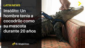 Insólito: Un hombre tenía a cocodrilo como su mascota durante 20 años