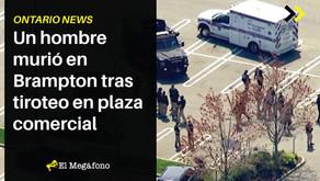 Un hombre murió en Brampton tras tiroteo en plaza comercial