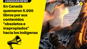 """En Canadá quemaron 5.000 libros por sus contenidos """"obsoletos e inapropiados"""" hacia los indígenas"""