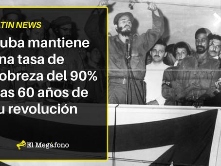 Cuba mantiene una tasa de pobreza del 90% tras 60 años de su revolución
