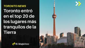 Toronto entró en el top 20 de los lugares más tranquilos de la Tierra