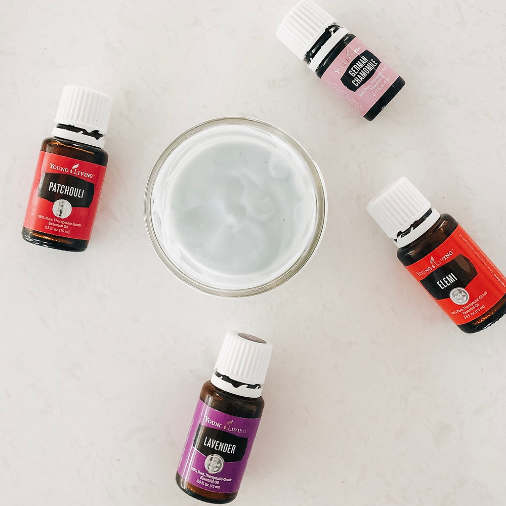 Skin nourishing essential oils