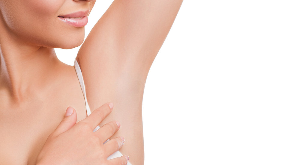 6 full coverage treatments of the underarms