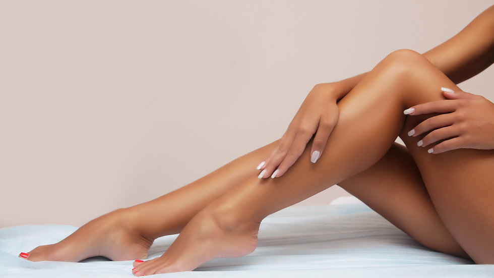 6 full coverage treatments of the lower legs