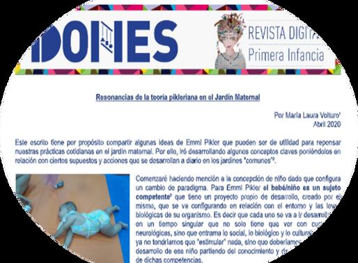 RESONANCIAS DE LA TEORIA PIKLERIANA EN EL JARDIN MATERNAL