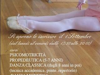 Ripartono le attività della Scuola di Danza Framarino dei Malatesta Teresa Alessandra