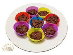 Chocolate Black Bean Muffins