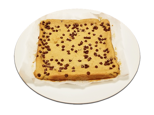 Chick Pea Blondies without favorite tran