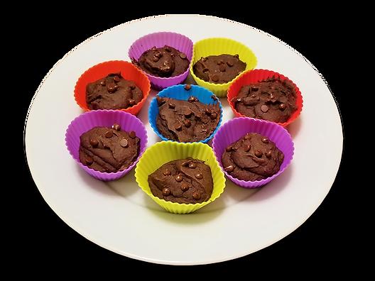 Chocolate Black Bean Muffins - Feeding o