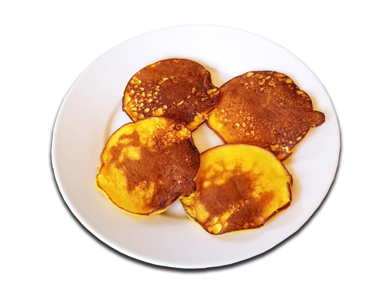 Butternut Squash Pancakes trans cropped