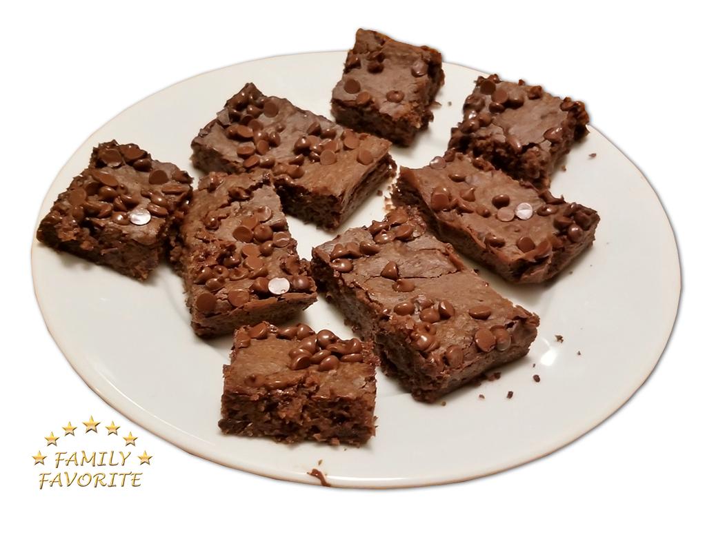 Choco Black Bean Brownies