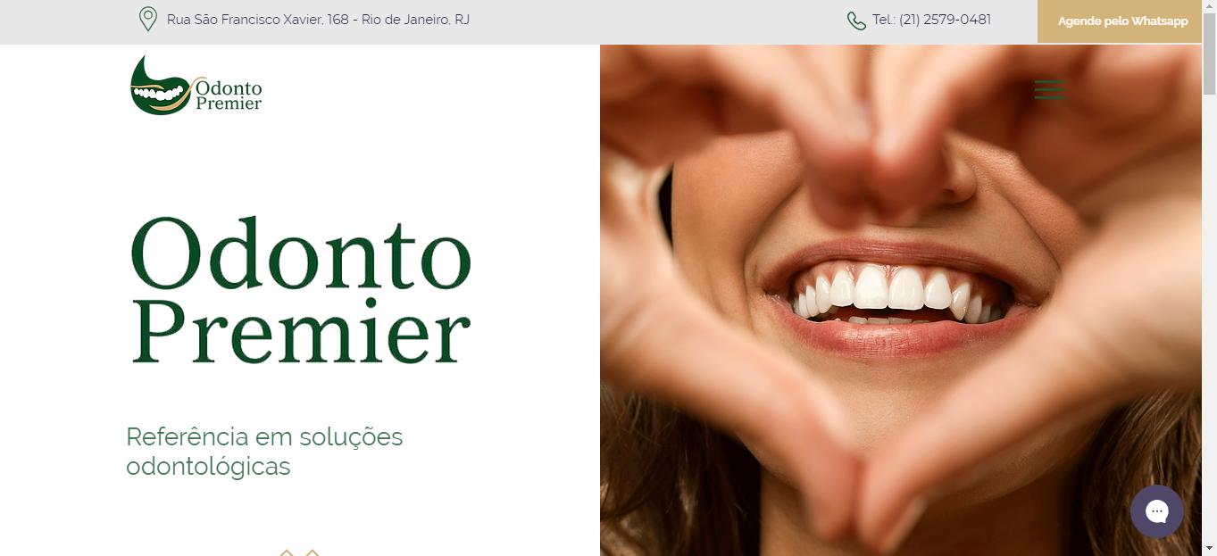 site Odonto Premier