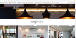 Site Cotti Arquitetura