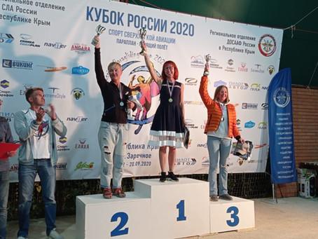 Поздравляем победителей Кубка России!