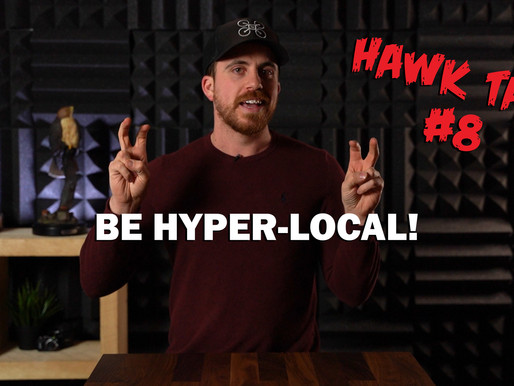 BE HYPER-LOCAL