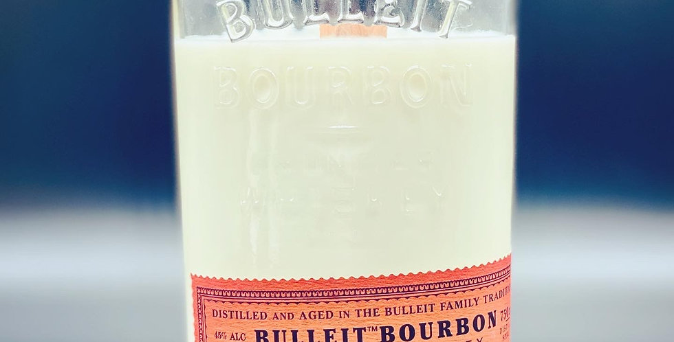 Repurposed Bourbon Candle