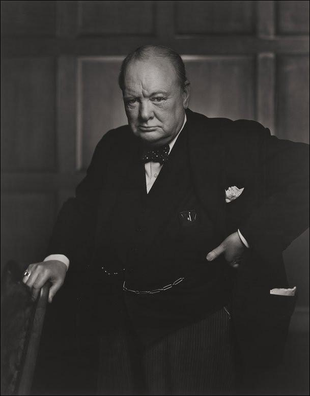 """""""Aprovecha el momento"""" La historia detrás de la famosa foto de W. Churchill"""