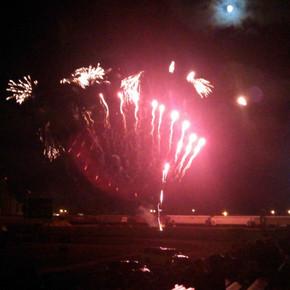 AgCountry Fireworks At Memorial Stadium