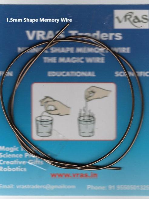 Nitinol SMA wire 1.5mm