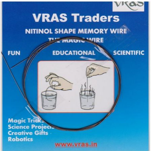 Nitinol Shape memory wire 0.5mm, 1 Meter length