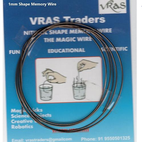 Nitinol SMA Wire 1mm