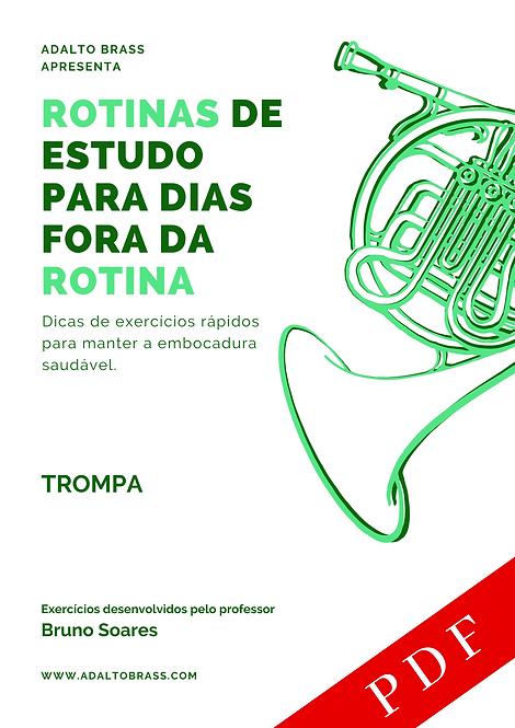 Método para Trompa | Rotinas de Estudo para Dias Fora da Rotina