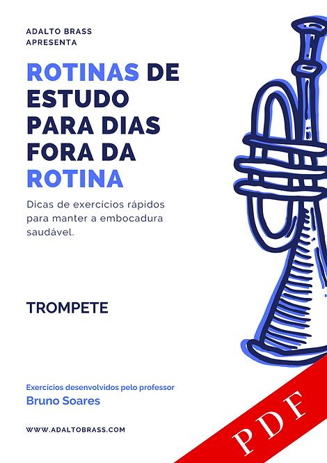 Método para Trompete | Rotinas de Estudo para Dias Fora da Rotina