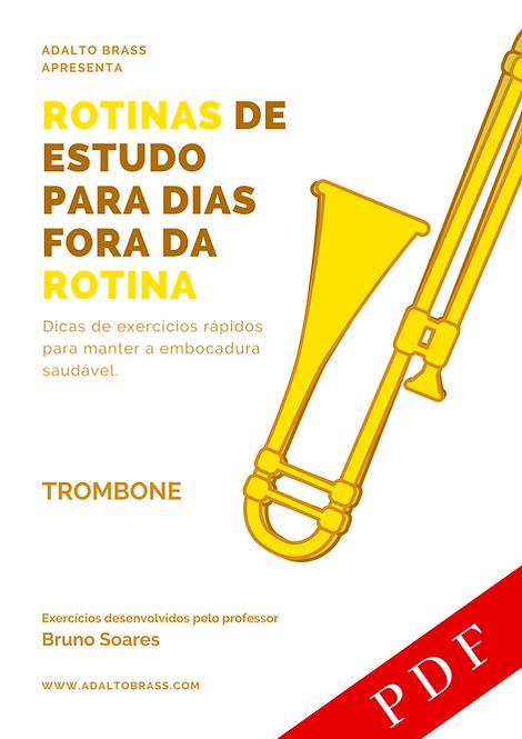 Método para Trombone | Rotinas de Estudo para Dias Fora da Rotina