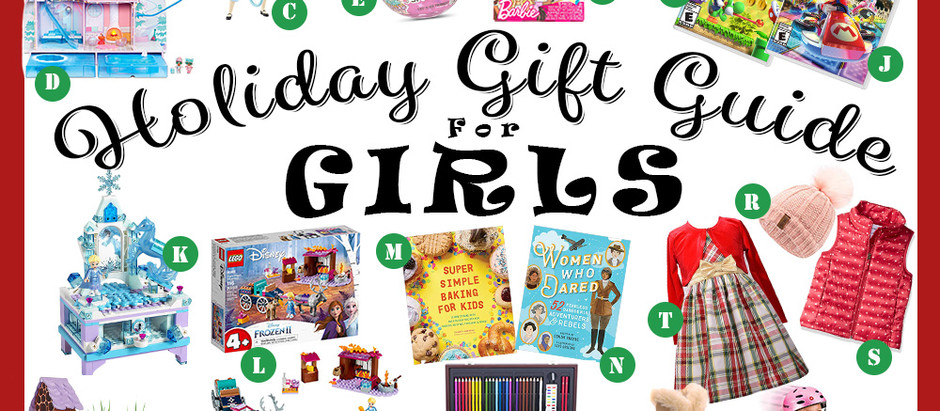 Best Holiday Gift Ideas for Girls
