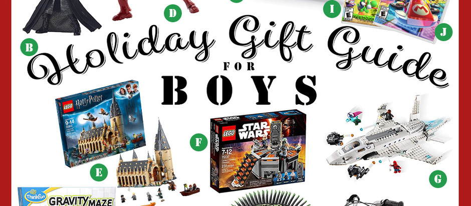 Best Holiday Gift Ideas for Boys