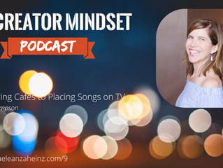 The Creator Mindset podcast interviews Teal Thompson! Link in image below: