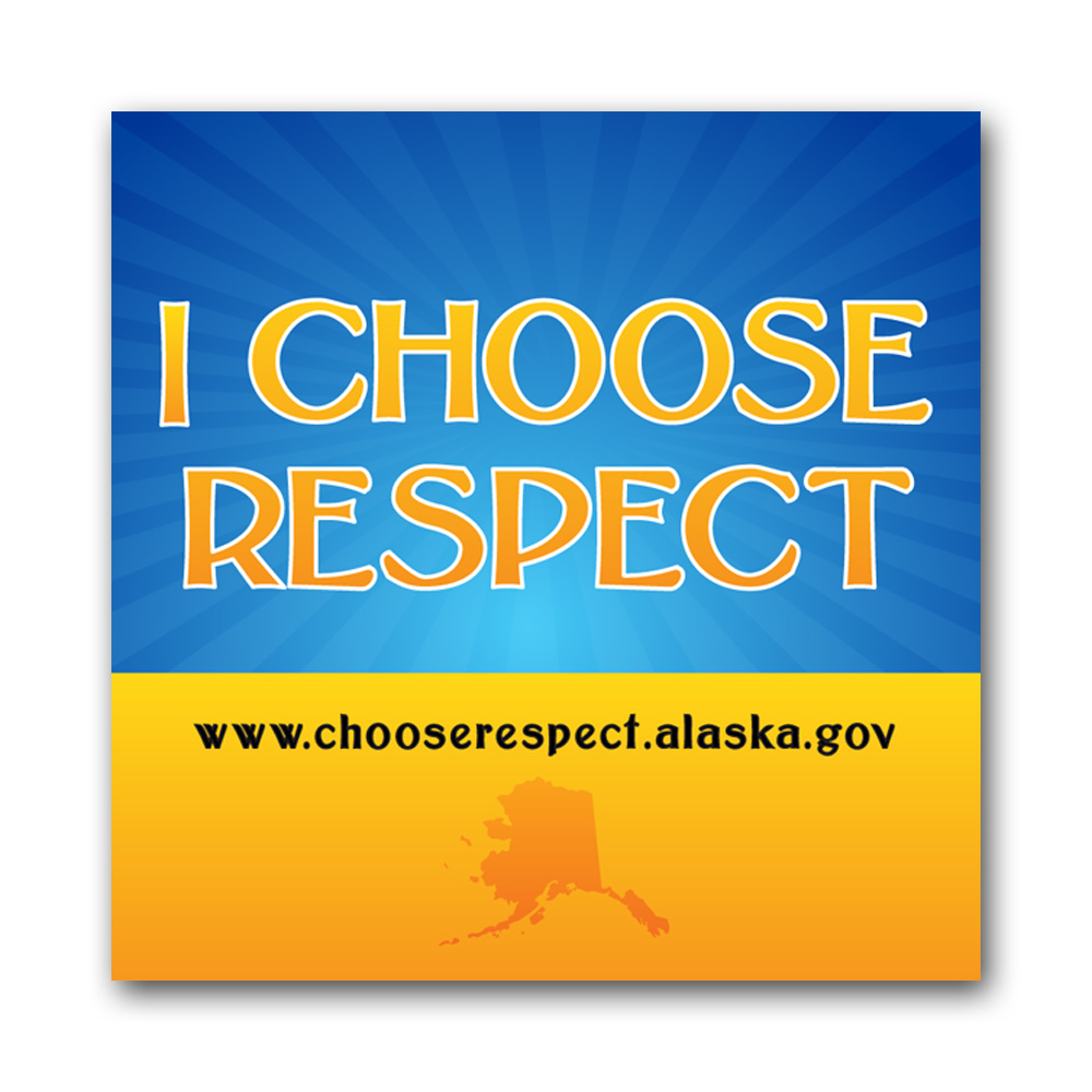 Choose Respect Button