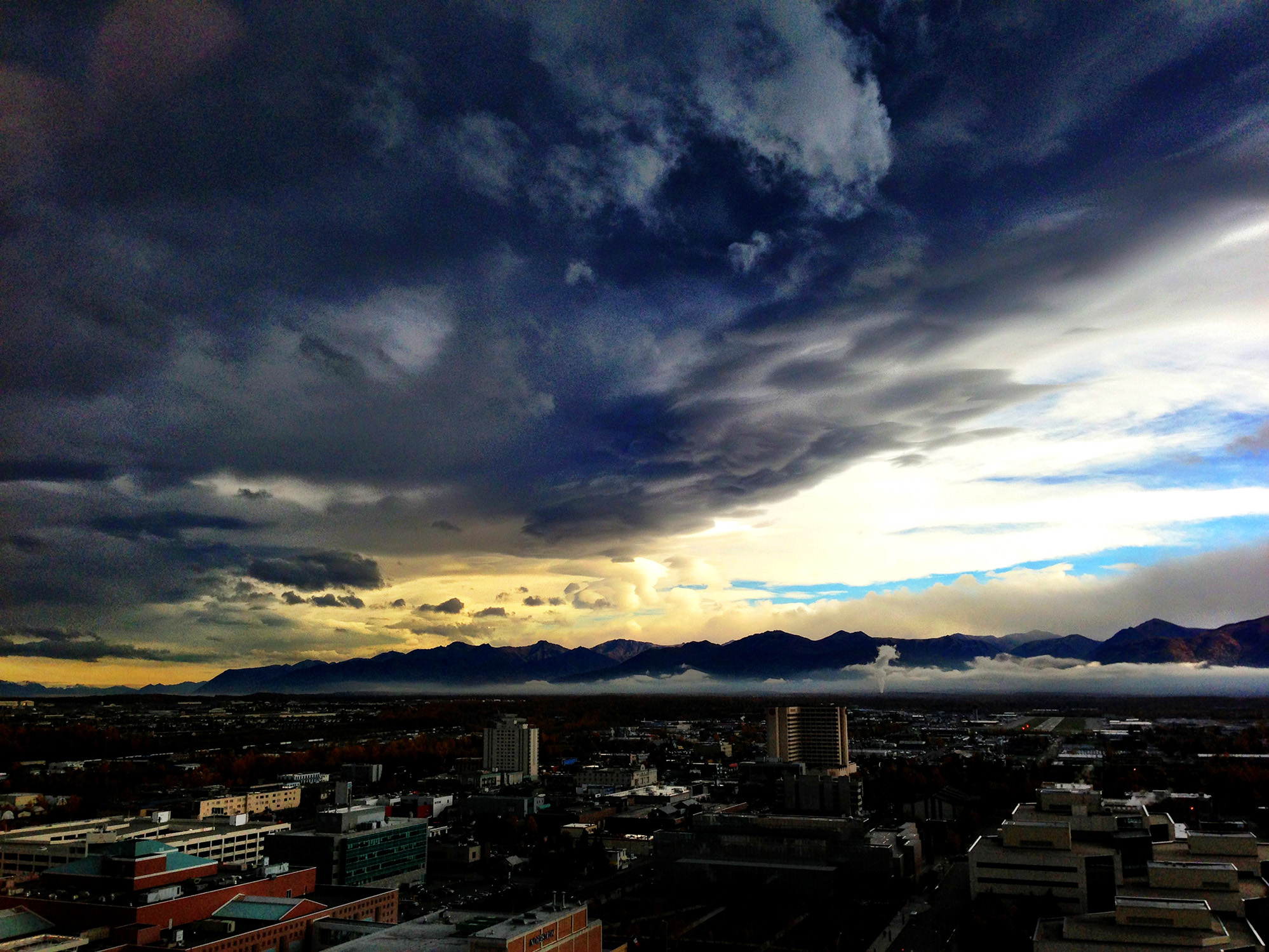 Storm Clouds Over Anchorage