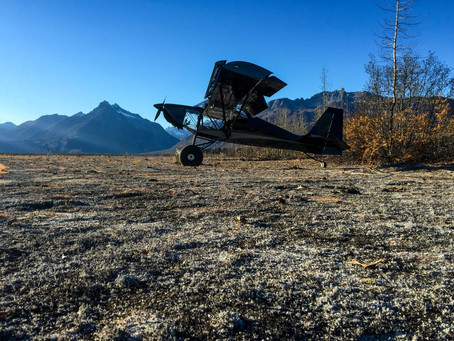 Superstol camping in the cold