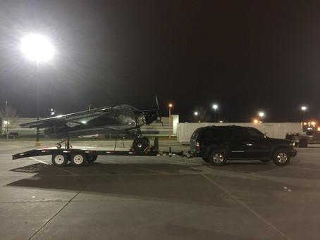 Trailering back to Alaska